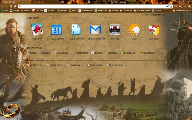 Google Chrome Skins Themes